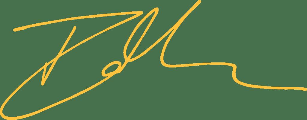 Irina Meacham's Signature
